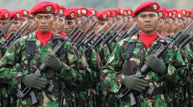 Indonesian special army force (KOPASSUS) have committed widespread human rights abuses in West Papua