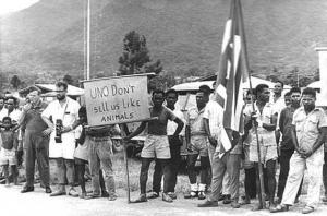 Protests at Act of Free Choice