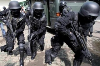 Members of the formidable Detatchment 88 anti terrorism unit