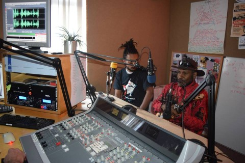 Benny Wenda on Radio Reverb in Brighton
