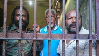 Chairman of the Regional Peoples Parliament (PRD) Apollos Sroyer, Secretary of KNPB Biak region Judas Kosay and Dorteus Bonsapia of the Federated Republic (NFRPB) are in Police custody after being arrested on 20th May.
