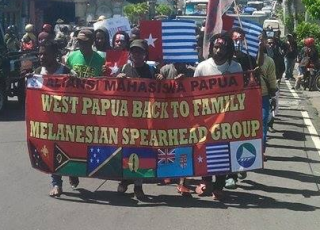 West Papuan students in Malang, Indoensia support ULMWP joining MSG