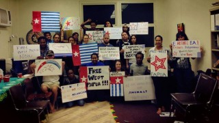 Free West Papua supporters in Hawaii coordinating support on 1st December
