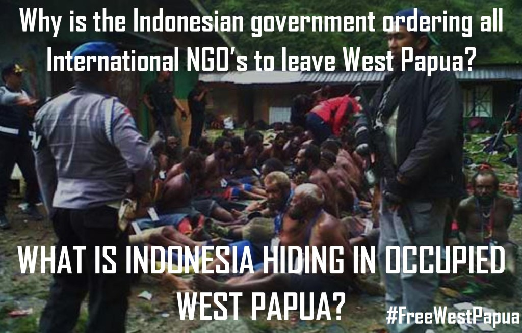 What is Indonesia hiding in occupied West Papua
